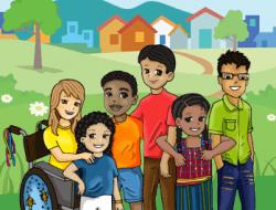 Comic derechos niñez migrante, 9 a 14