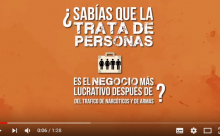 Video animado Trata de Personas