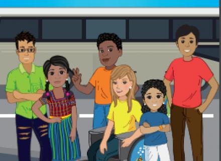 Comic derechos niñez migrante