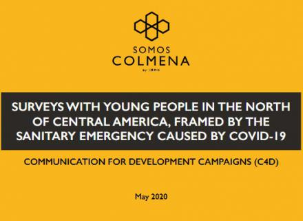 Surveys with young people in the north of Central America, framed by the sanitary emergency caused by COVID-19