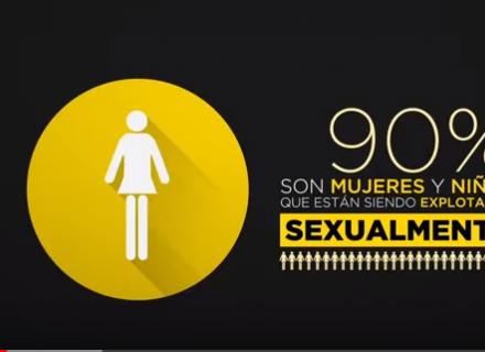 Video Qué es la trata de personas